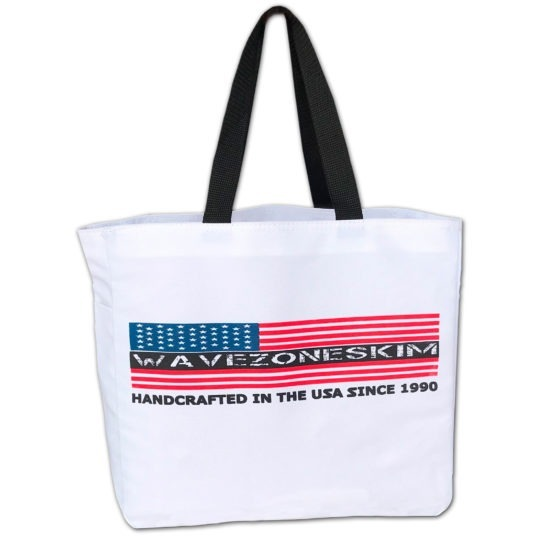 Wave Zone American Flag Tote